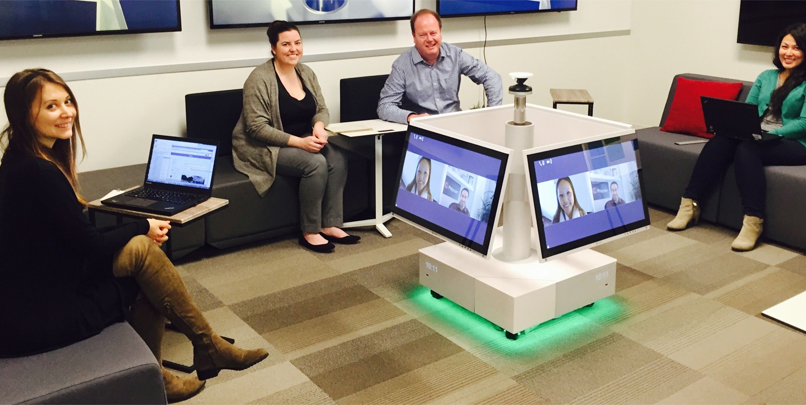 Millennials and the Huddle Room