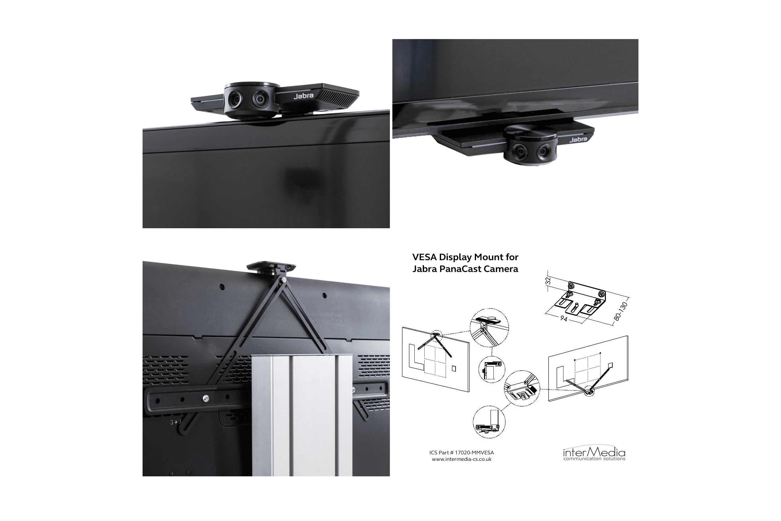 New Monitor Mount Solution for the Jabra PanaCast